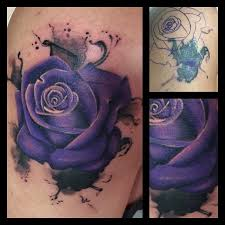Did This Inky Rose Cover Up Today Goodbye Nasty Dragon Not My