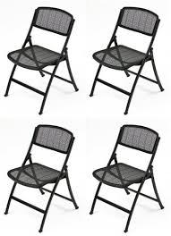 amazon com mity lite mesh one folding guest chair black 4 pack