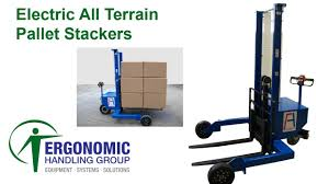 Electric All Terrain Pallet Stacker - Conhersa ET1000 - Ergonomic ... Rough Terrain Sack Truck From Parrs Workplace Equipment Experts Narrow Manual Pallet 800 S Craft Hand Trucks Allt2 Vestil All 2000 Lb Capacity 12 Tonne Roughall Safety Lifting All Terrain Pallet Pump 54000 Pclick Uk Mini Buy Hire Trolleys One Stop Hire Pallet Truck Handling Allterrain Ritm Industryritm Price Hydraulic Jack Powered