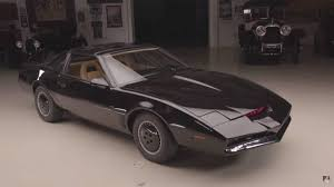 Jay Leno Drives An Original K.I.T.T. From Knight Rider