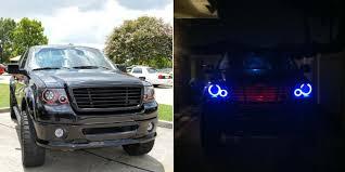 100 Lights For Trucks LED Halo Headlight Accent Black Circuit Board