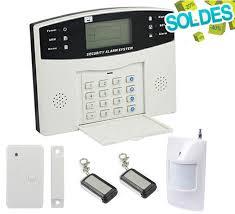 alarme maison mixte sans fil et filaire gsm ematronic al01