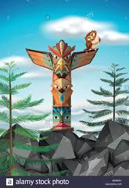 Coloriage Totem Pole With Coloriage Azt¨que Pour Adultes D Autres