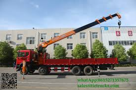 100 Truck Mounted Cranes Custermizing 4x2 8 Ton Truck Mounted Crane SQ8S4 Crane Truck High