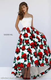 best 20 floral prom dresses ideas on pinterest homecoming