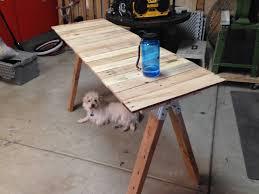 Fresh Pallet Desk Diy Project Reclaimed Pallet Wood Desk Fvn