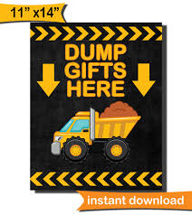 DUMP GIFTS HERE Sign/ Diy/ Instant Download/ Construction Mclain Life Cstruction Party Decor Diy Birthday Chocolate Coins Wage Popcorn A Cstructionthemed Half A Hundred Acre Wood Tonka Fire Truck Balloon Bouquet Dump 5pc Supplies Cake Ideas Janet Flickr Wwwbirthdayexpresscom Party Supplies For 8 2399 Toddler S36 Youtube My Big Walmartcom Theme Banner Invitations Cupcake Buffet Sign Little Digger There Goes Vhs As Well Used Mack Granite Trucks For Super Shapes Pictures