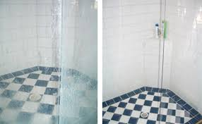 shower glass restoration groutpro grout and tile cleaning