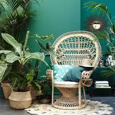 jungle wohnen mit pflanzen schöner wohnen
