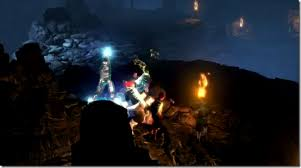 reinhart dungeon siege 3 dungeon siege iii s mage pummels bandits with electric uppercuts