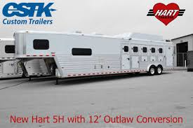 Hart 5H With 12' Outlaw Conversion With Side Tack, Drop Down Windows ...