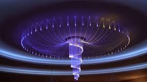 Fiber Optic Ceiling Lamp by Laymance Lighting Fiber Optic Lighting