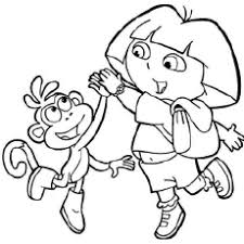 Dora Playing With Her Friend