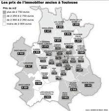 toulouse nouvelle carte des prix immobiliers par quartiers