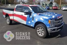 100 Wrapped Trucks The Perfect Time For A Patriotic Wrap Signs For Success