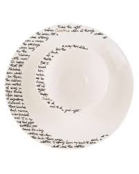 Twas The Night Before Halloween Poem by Twas The Night Before Christmas Bowl U0026 Charger Plate Set The