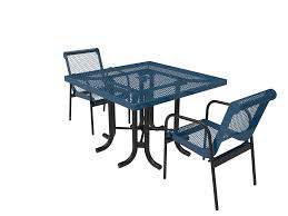 Standard Metal Square Patio Table