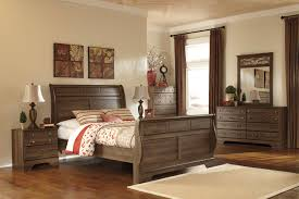 Porter King Sleigh Bed by Bedroom U0026 Mattress Total Furniture