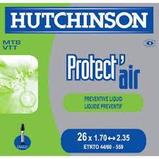chambre air velo hutchinson protect air chambre à air vélo et vtt 26 pouces