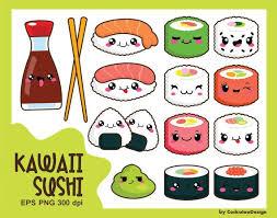 Cute Kawaii Food Clipart