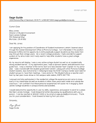 College Cover Letters Examples For Highschool Students Inspirational Resume Letter High School