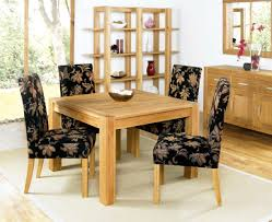 Dining Room Chairs Ikea Uk by Calming Brown Dining Room Shows Black Dining Table With Beige