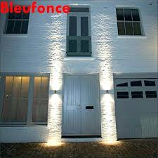 exterior wall sconces commercial light up light led