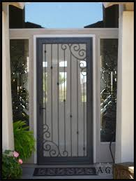 Door Design : Metal Security Screen Doors Unique Home Designs ... Unique Home Designs 36 In X 80 White Surface Mount Outswing Arbor Black Recessed All La Entrada Door Design Metal Security Screen Doors Awesome Alinum Bust Of Gallery Decorating 96 Solana Cool And Opulent Installation 15 The Red Homesfeed Napa Vinyl Coronado Bronze