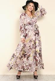 floral surplice maxi dress shop plus size at papaya clothing