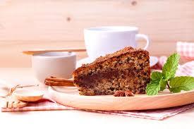 kuchen mit kaffee 2055119 stock foto