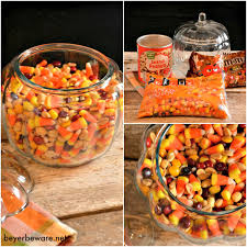Pumpkin Spice Chex Mix With Candy Corn by Candy Corn Trail Mix Beyer Beware