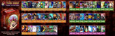 yugioh bakura character deck character deck yugi muto by yugicorp on deviantart