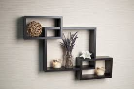 DecorationDisplay Shelves Wall Mounted Bookshelves Hanging Floating Cube Long