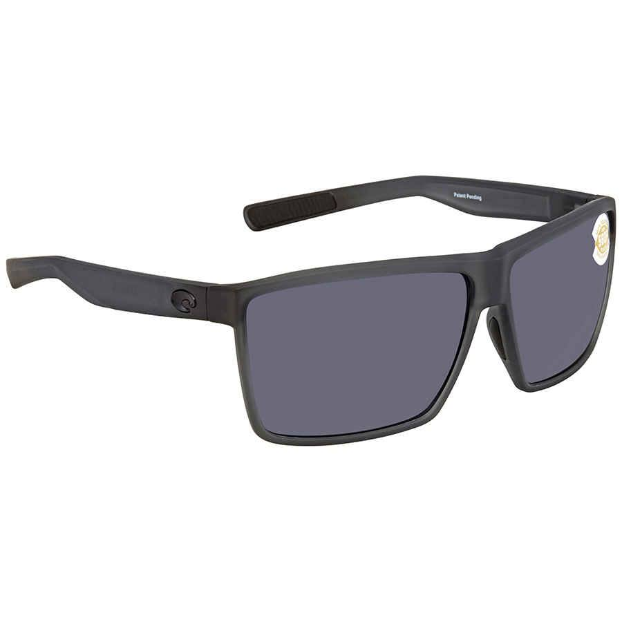 Costa Del Mar Rincon Polarized OGP Sunglasses - Smoke Crystal and Gray
