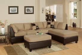canap bicolore deco salon marron beige marvelous salon moderne beige marron with