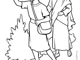 Bible Characters Coloring Pages Home