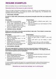 Waitress Resume Samples Fresh Sample For Position No Experience A Of
