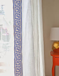 rosa beltran design customizing inexpensive linen curtains diy