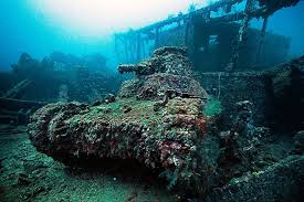 Abandoned Tank Underwater In The Truk Lagoon Micronesia [1600x1068 ... Top 2 Best Truk Lagoon Liveaboard Trips The Adventure Junkies Kawanishii H8k2 Emily Flying Boat Tom Frohnhofer Diving The San Francisco Maru In Chuuk Micronesia Trucks Truk Lagoon Becky Schott Wm Sm Scuba Freediving Carlos Garcia Dive With Diverse Travel Ultimate Wreck Divers Haven Wrecks From Odyssey 1422nd April 2018 Nippo Of Imperial Japanese Navy Coral And Sponges On A Mast Of Fujikawa Shipwreck Thankful For Rescue Coast Guard Compass