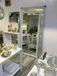 spiegel weiß silber wohnzimmer schlafzimmer flur dekoration