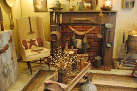 primitive decorating ideas for living room decoration