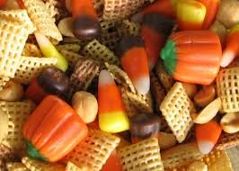 Pumpkin Spice Chex Mix With Candy Corn by Toss Your Fall Mix With A Teaspoon Of Cinnamon Or Pumpkin Spice