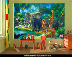Kids Bedroom Jungle Theme