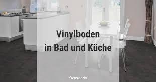 vinylboden im bad und in der küche verlegen casando ratgeber