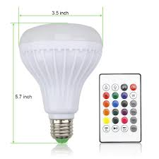 High Ceiling Light Bulb Changer Amazon by Amazon Com Oyep Music Light Bulb Led Light Bulb With Bluetooth