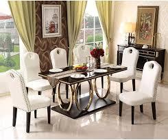 edelstahl esszimmer set minimalistischen moderne holz esstisch und 6 stühle holz leder mesa de jantar muebles comedor