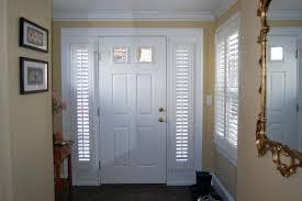 Front Door Side Panel Curtains by Front Door Window Treatments S S Front Door Window Curtains
