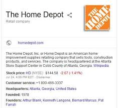 Home Depot Corporate fice Headquarters Address & Phone Numbers