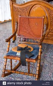 Cane Rocking Chair Stock Photos & Cane Rocking Chair Stock ...