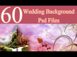 60 Wedding Background Psd Files 12x36 Download